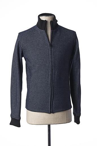Veste casual bleu AGNES B pour homme