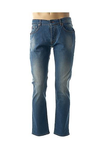 Jeans coupe droite bleu DANIEL CREMIEUX pour homme