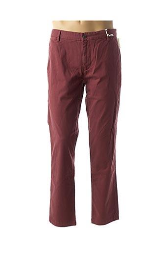 Pantalon casual rouge DOCKERS pour homme