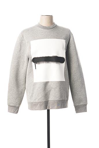 Sweat-shirt gris DIESEL BLACK GOLD POUR LE PRINTEMPS pour homme