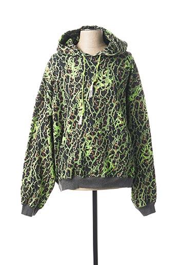 Sweat-shirt vert ANTIDOTE STUDIO pour homme