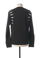 Sweat-shirt noir NEIL BARRETT pour homme seconde vue
