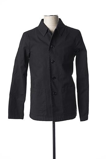 Veste casual noir AGNES B pour homme