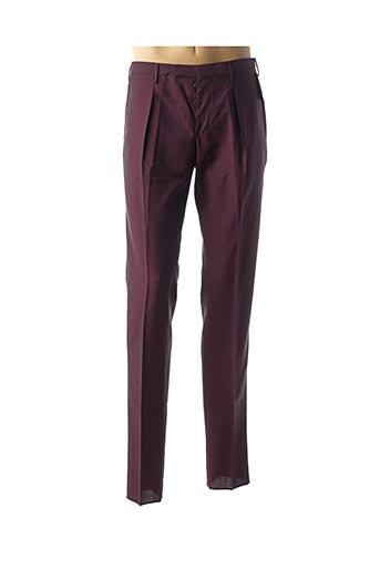 Pantalon chic rouge INCOTEX pour homme