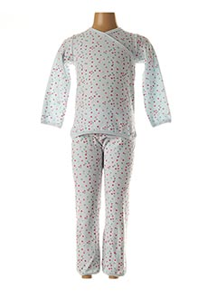 Pyjama bleu PETIT BATEAU pour fille