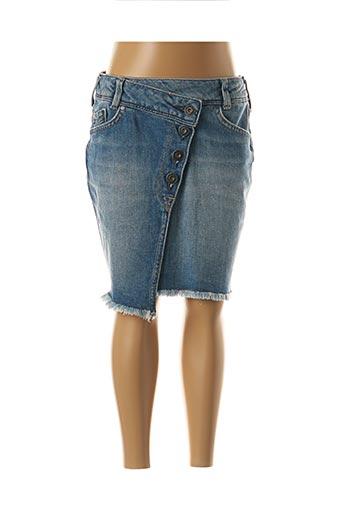 Jupe mi-longue bleu PEPE JEANS pour fille