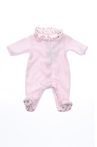 Pyjama rose PETIT BATEAU pour fille