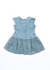 Robe mi-longue bleu PETIT BATEAU pour fille seconde vue