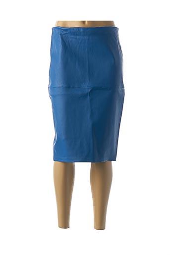 Jupe mi-longue bleu BY MALENE BIRGER pour femme