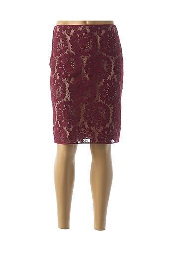 Jupe mi-longue rouge PAULE KA pour femme