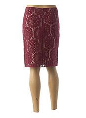 Jupe mi-longue rouge PAULE KA pour femme seconde vue