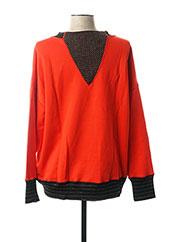 Sweat-shirt rouge BY MALENE BIRGER pour femme seconde vue