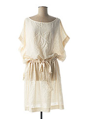 Robe mi-longue beige MY SUNDAY MORNING pour femme seconde vue