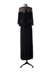 Robe longue noir PAULE KA pour femme seconde vue