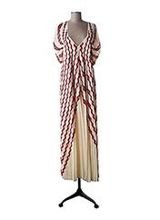 Robe mi-longue beige BY MALENE BIRGER pour femme seconde vue