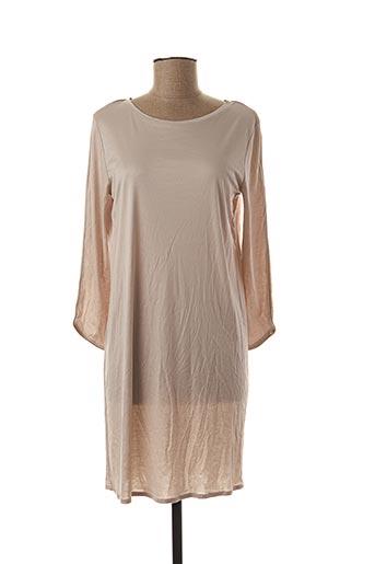 Chemise de nuit beige HANRO pour femme