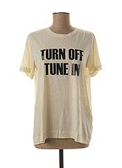T-shirt manches courtes beige BY MALENE BIRGER pour femme seconde vue