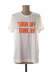 T-shirt manches courtes blanc BY MALENE BIRGER pour femme seconde vue