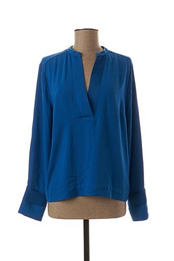 Blouse manches longues bleu BY MALENE BIRGER pour femme