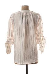Blouse manches longues blanc BY MALENE BIRGER pour femme seconde vue