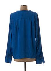 Blouse manches longues bleu BY MALENE BIRGER pour femme seconde vue