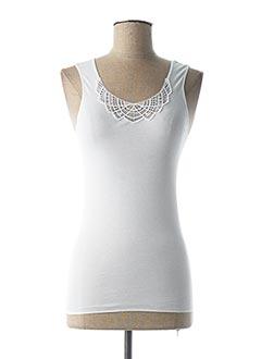 Top/Caraco blanc HANRO pour femme