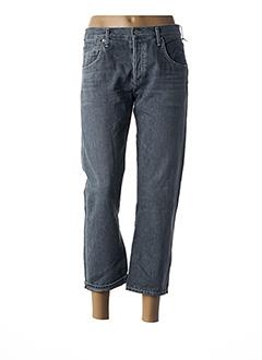 Jeans boyfriend gris CITIZENS OF HUMANITY pour femme