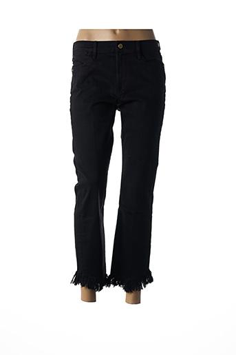Jeans coupe slim noir FRAME pour femme
