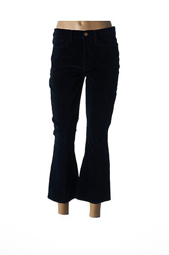 Pantalon 7/8 bleu FRAME pour femme