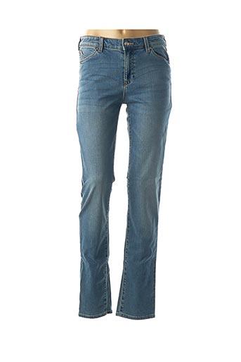 Jeans coupe slim bleu ARMANI pour femme