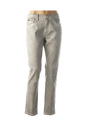 Jeans coupe slim gris RALPH LAUREN pour femme
