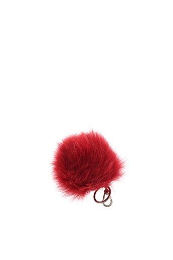 Porte-clé rouge FURLA pour femme
