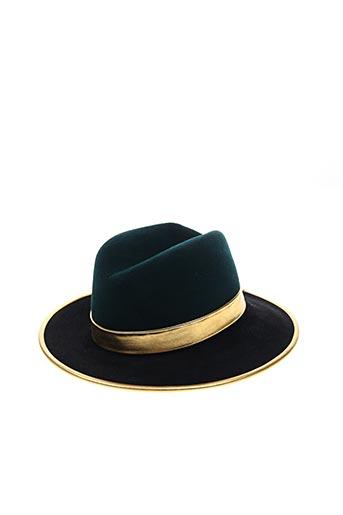 Chapeau noir BLANCHE ABEL pour femme