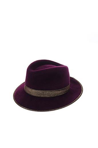 Chapeau violet BLANCHE ABEL pour femme