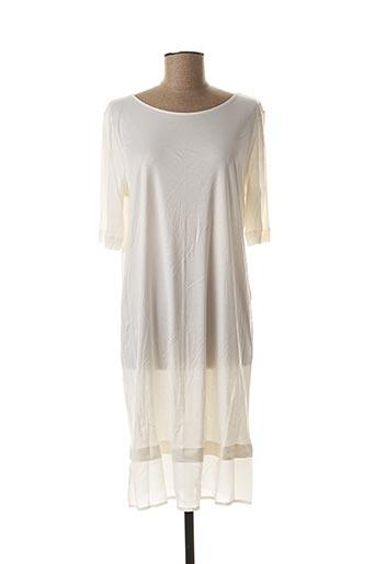 Chemise de nuit blanc HANRO pour femme