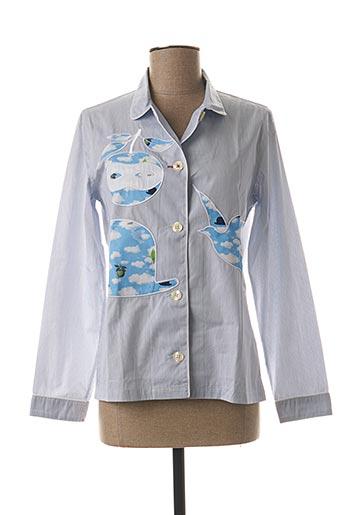 Pyjama bleu MAISON MARCY pour femme
