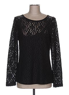 Pull col rond noir RABE pour femme