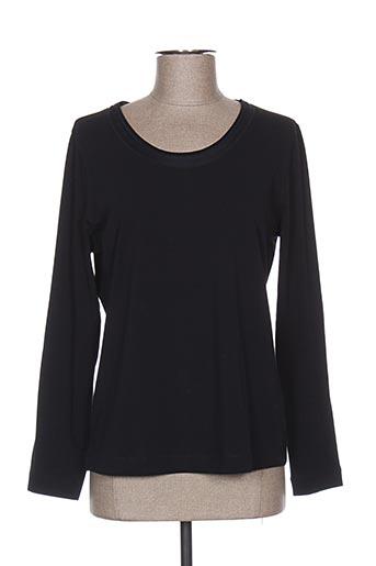 T-shirt manches longues noir BASLER pour femme