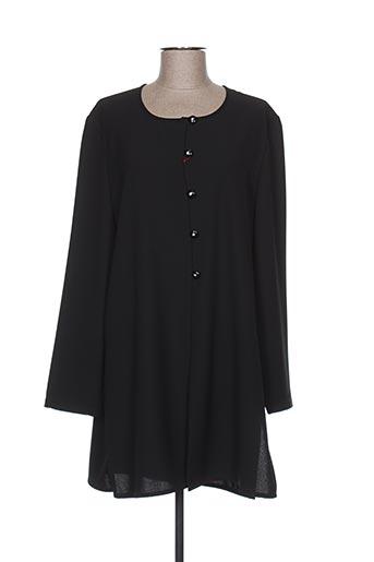 Veste casual noir GERARD PASQUIER pour femme