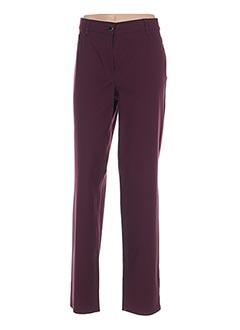 Pantalon casual violet ATELIER GARDEUR pour femme
