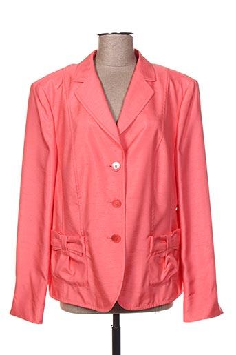 Veste chic / Blazer orange BASLER pour femme