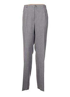 Pantalon casual gris CHRISTIAN MARRY pour femme