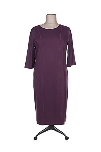 Robe mi-longue violet SOMMERMANN pour femme