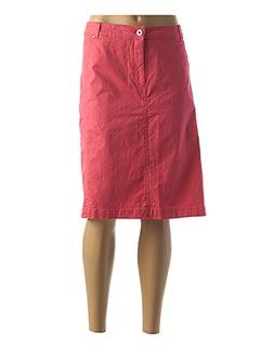 Jupe mi-longue rose BRANDTEX pour femme