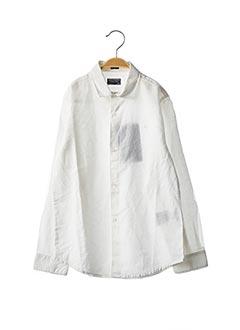 Chemise manches longues blanc NUKUTAVAKE pour garçon