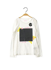 T-shirt manches longues blanc ESPRIT pour fille seconde vue