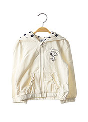 Veste casual blanc ORIGINAL MARINES pour fille seconde vue