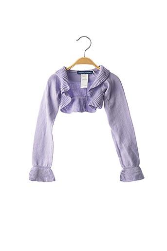 Boléro violet ORIGINAL MARINES pour fille