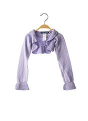 Boléro violet ORIGINAL MARINES pour fille seconde vue