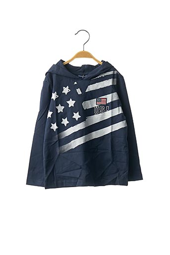 T-shirt manches longues bleu ORIGINAL MARINES pour garçon